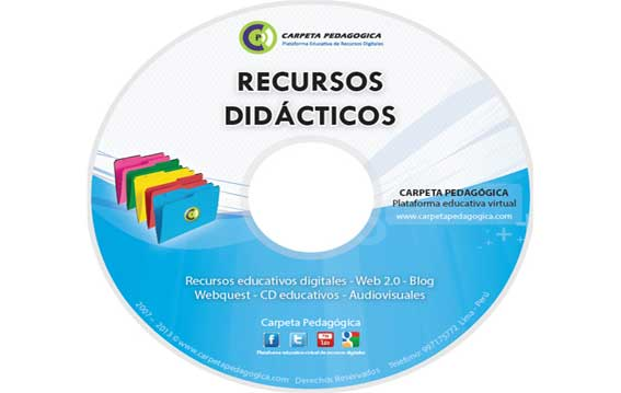 CD Educativo Carpeta Pedagógica